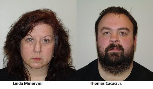 Linda Minervini and Thomas Cacaci Jr.